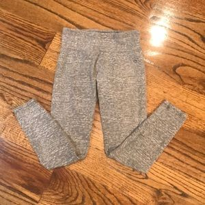 🌻girls size 10 gray Justice leggings